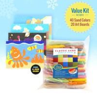 Peel 'N Play Sand Art Activity Kit