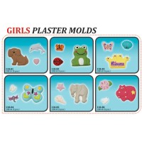 Plaster Molds - Girls