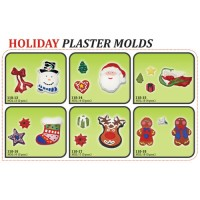 Plaster Molds - Holiday