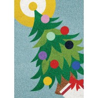 Peel 'N Stick Sand Art Board #23 - Christmas Tree