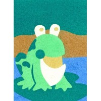 Peel 'N Stick Sand Art Board #13 - Mr. Frog